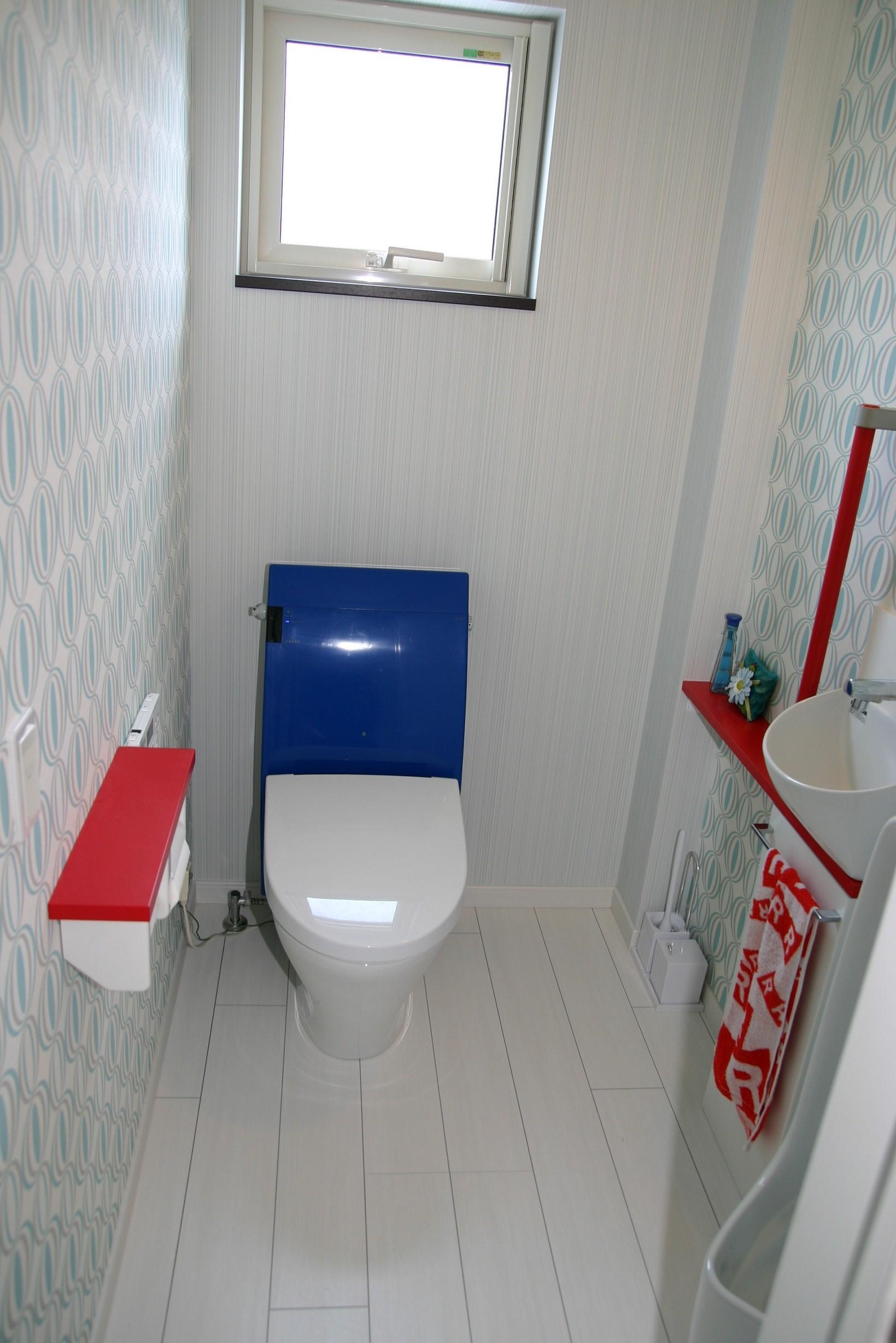 広いトイレ 咲き路 青森県 板柳 新築・注文住宅を工務店で建てるなら